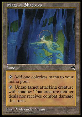 Maze of Shadows, Tempest