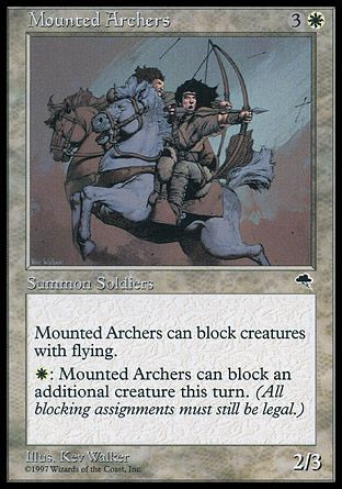 Mounted Archers, Tempest