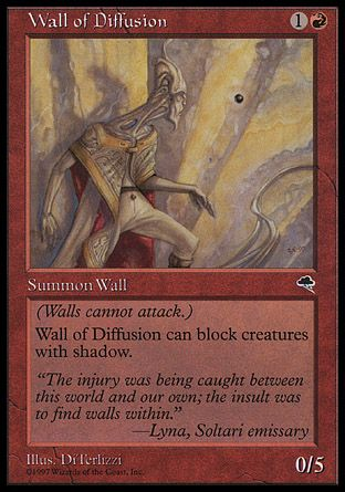 Wall of Diffusion, Tempest