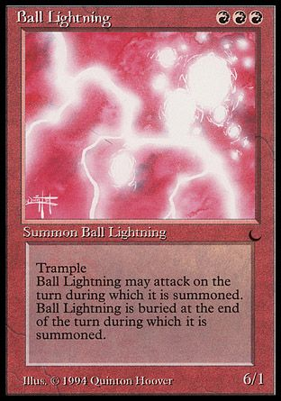 Ball Lightning, The Dark