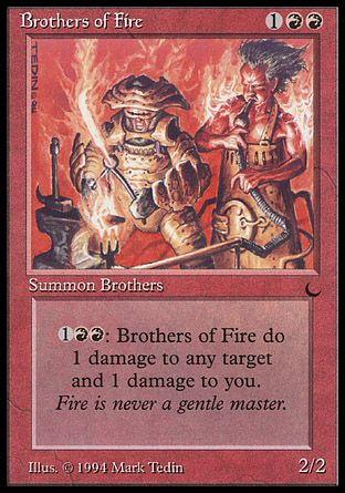 Brothers of Fire, The Dark