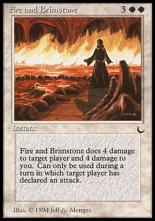 Fire and Brimstone, The Dark