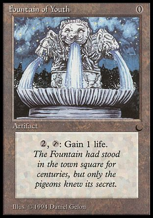 Fountain of Youth, The Dark