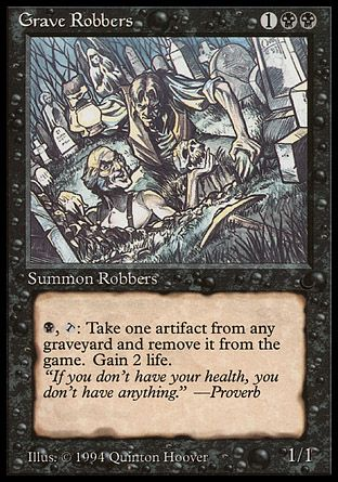 Grave Robbers, The Dark