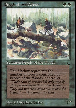 People of the Woods, The Dark
