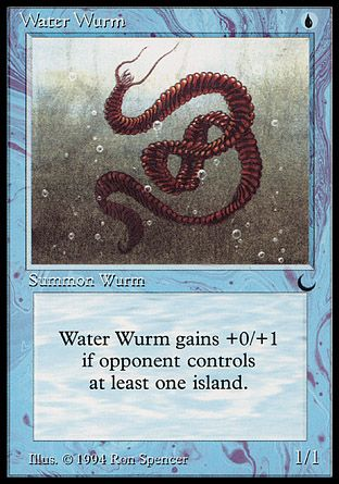 Water Wurm, The Dark
