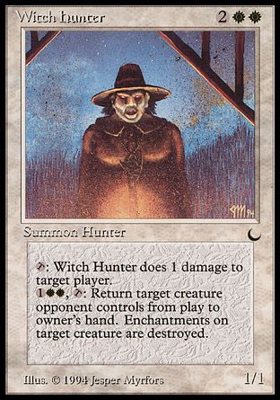 Witch Hunter, The Dark