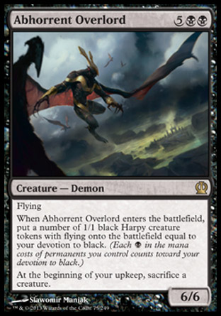 Abhorrent Overlord, Theros