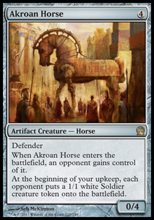 Akroan Horse, Theros