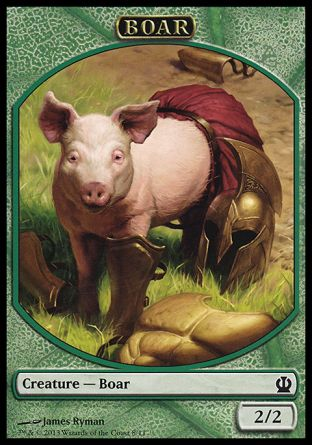 Boar token, Theros