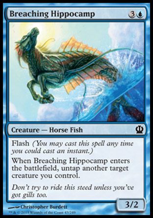 Breaching Hippocamp, Theros