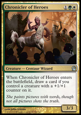 Chronicler of Heroes, Theros