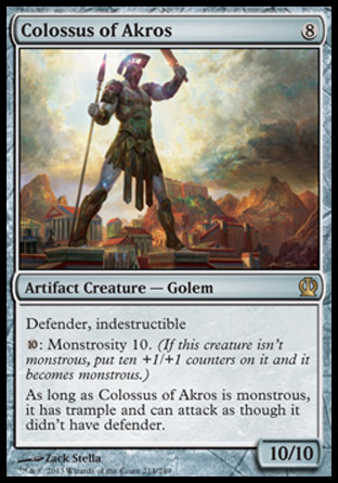 Colossus of Akros, Theros