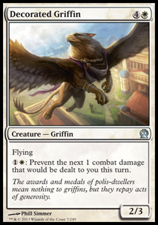 Decorated Griffin, Theros