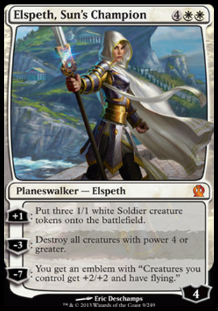 Elspeth, Sun's Champion, Theros