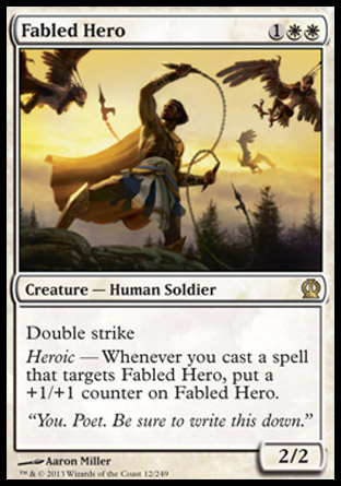 Fabled Hero, Theros