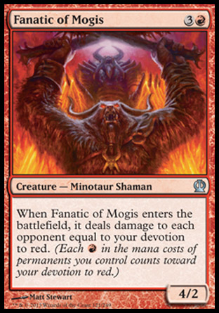 Fanatic of Mogis, Theros