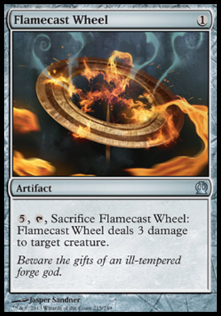 Flamecast Wheel, Theros