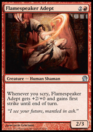 Flamespeaker Adept, Theros