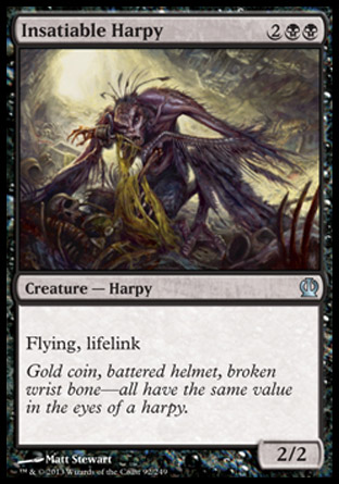 Insatiable Harpy, Theros