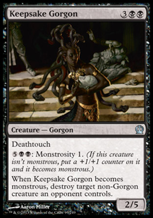 Keepsake Gorgon, Theros