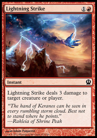 Lightning Strike, Theros