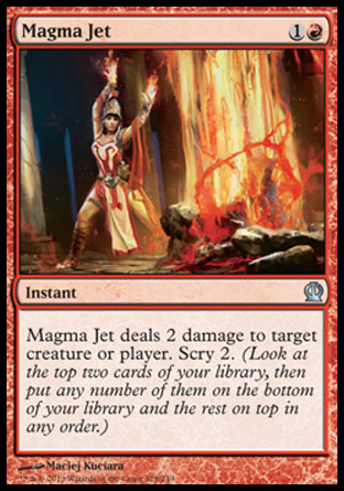 Magma Jet, Theros