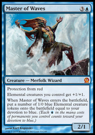 Master of Waves, Theros