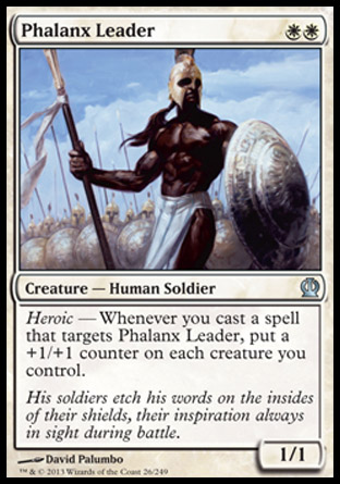 Phalanx Leader, Theros