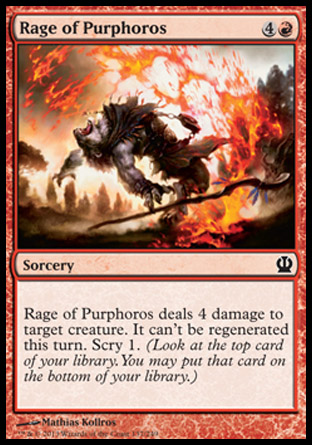 Rage of Purphoros, Theros