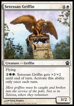 Setessan Griffin, Theros