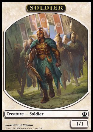 Soldier token, Theros