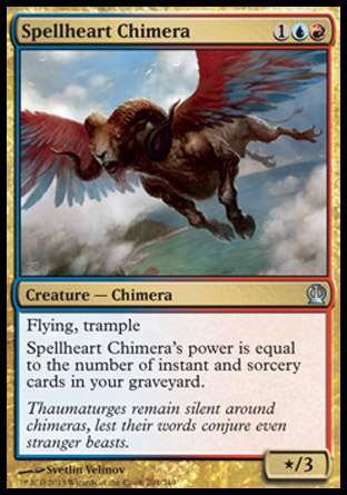 Spellheart Chimera, Theros