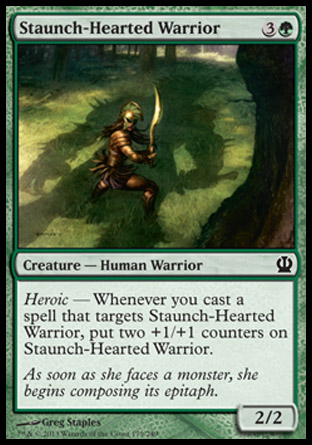Staunch-Hearted Warrior, Theros