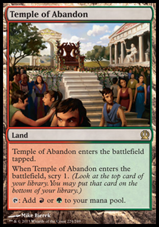 Temple of Abandon, Theros