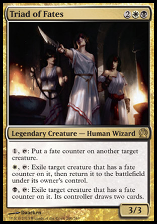 Triad of Fates, Theros