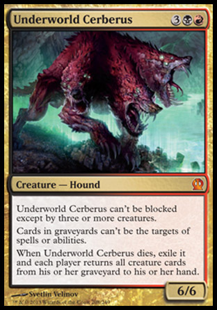 Underworld Cerberus, Theros