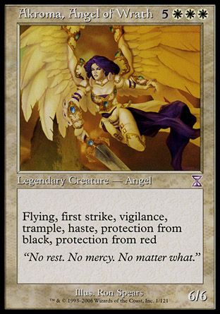 Akroma, Angel of Wrath, Time Spiral TS