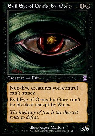 Evil Eye of Orms-by-Gore, Time Spiral TS
