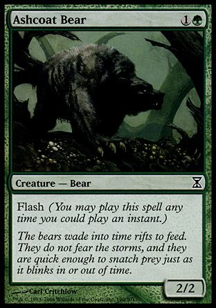 Ashcoat Bear, Time Spiral