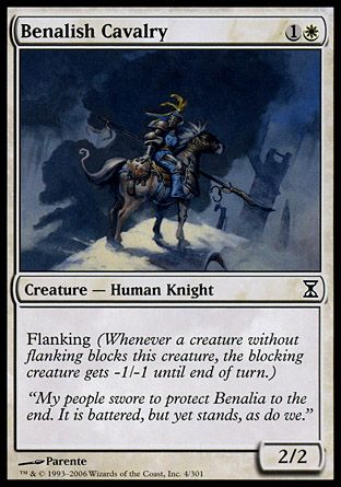 Benalish Cavalry, Time Spiral