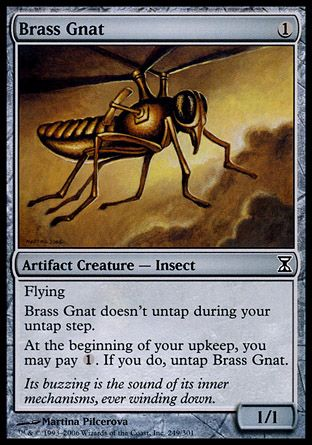 Brass Gnat, Time Spiral