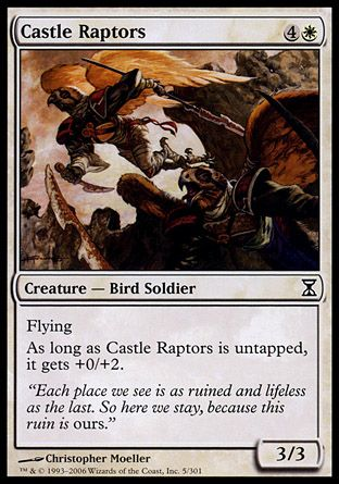 Castle Raptors, Time Spiral