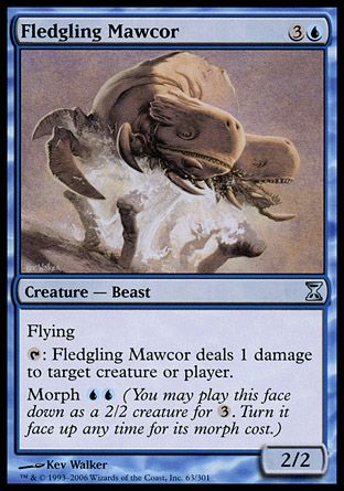 Fledgling Mawcor, Time Spiral