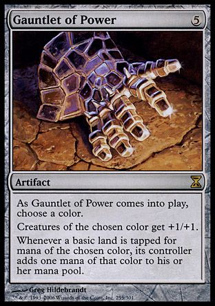 Gauntlet of Power, Time Spiral