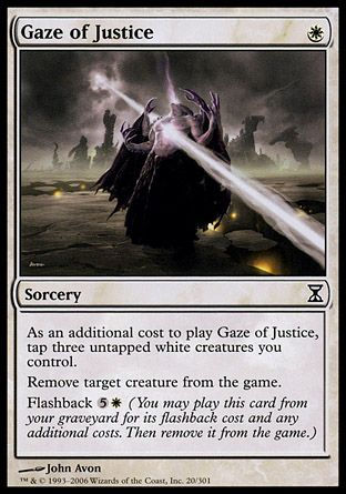 Gaze of Justice, Time Spiral