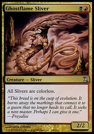 Ghostflame Sliver, Time Spiral