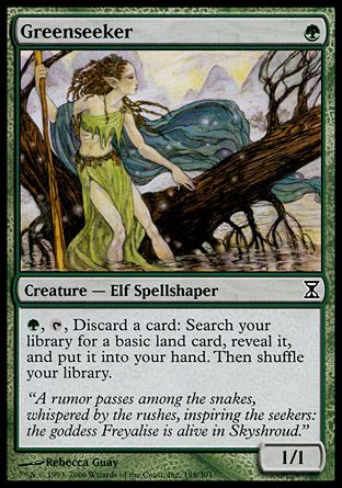 Greenseeker, Time Spiral