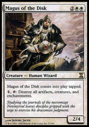 Magus of the Disk, Time Spiral
