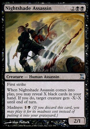 Nightshade Assassin, Time Spiral